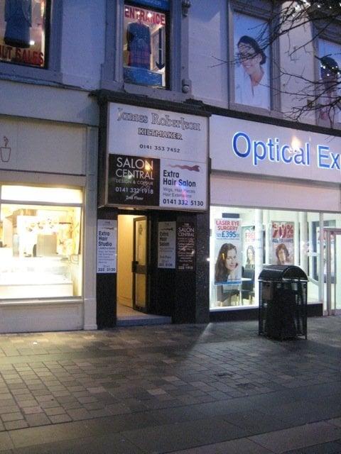 Salon central hair salons 118 sauchiehall st for Aaina beauty salon glasgow