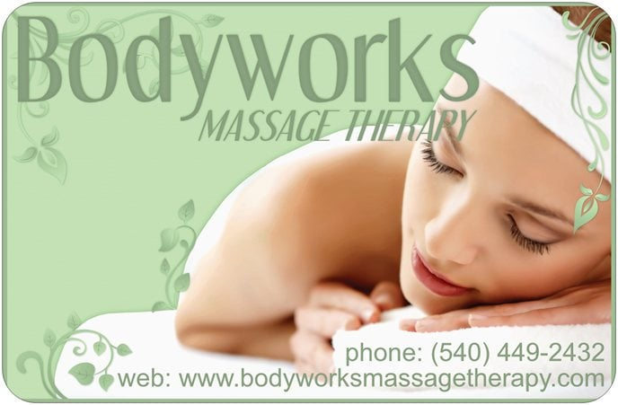 Bodyworks Massage Therapy: 206 W Main St, Radford, VA