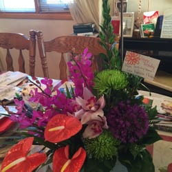 Photo of Panda Flowers - Edmonton, AB, Canada. Here is my birthday arrangement ...