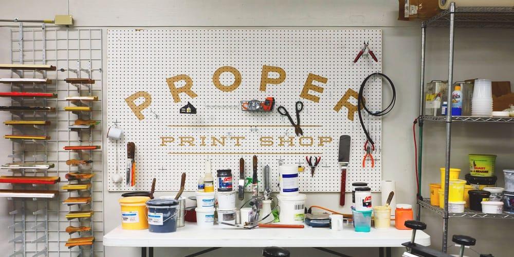 The Proper Printshop