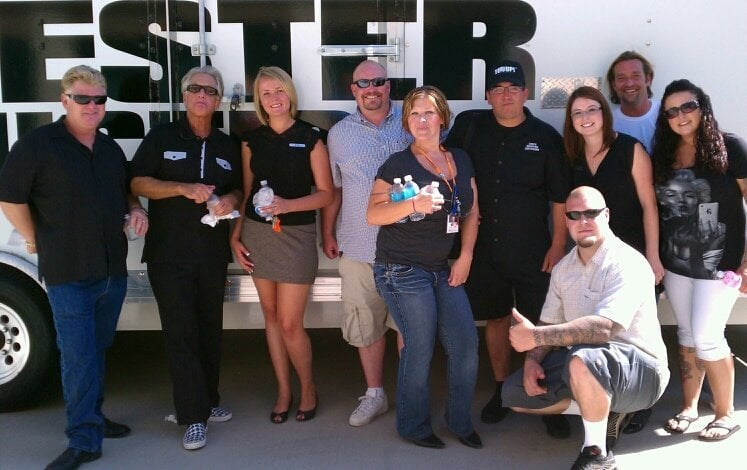 Team Airport Super Storage With The Cast From Storage Wars