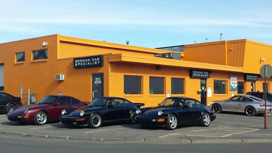976ce90c17 Family of Porsche resting outside German Car Specialist. - Yelp