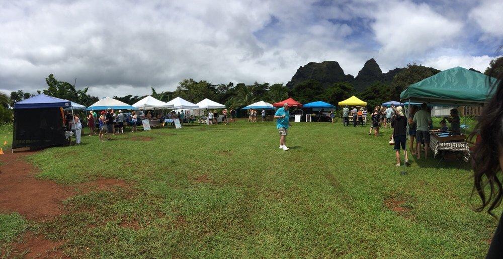 Anahola Farmer's Market: 4541 Hokualele Rd, Anahola, HI