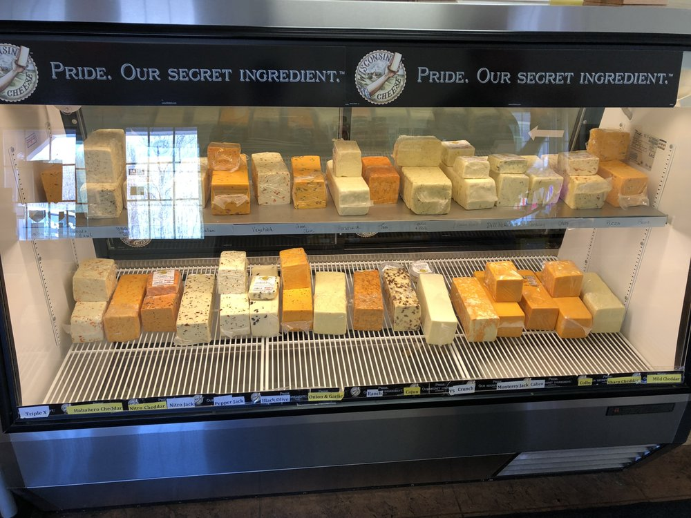 Yellowstone Cheese: 24105 County Hwy Mm, Cadott, WI