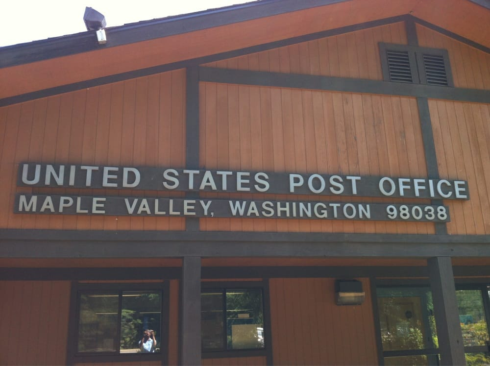 Us post office post offices 22023 se wax rd maple - United states post office phone number ...