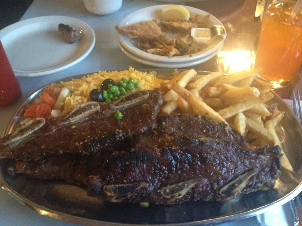 Huge portions but the food wasn 39 t so great yelp for Food for bar b q
