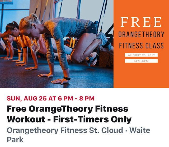 Social Spots from Orangetheory Fitness St. Cloud
