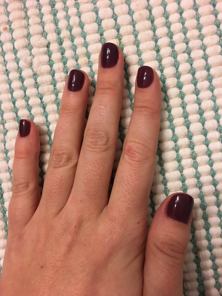 So glad I tried the powder gel manicure! - Yelp