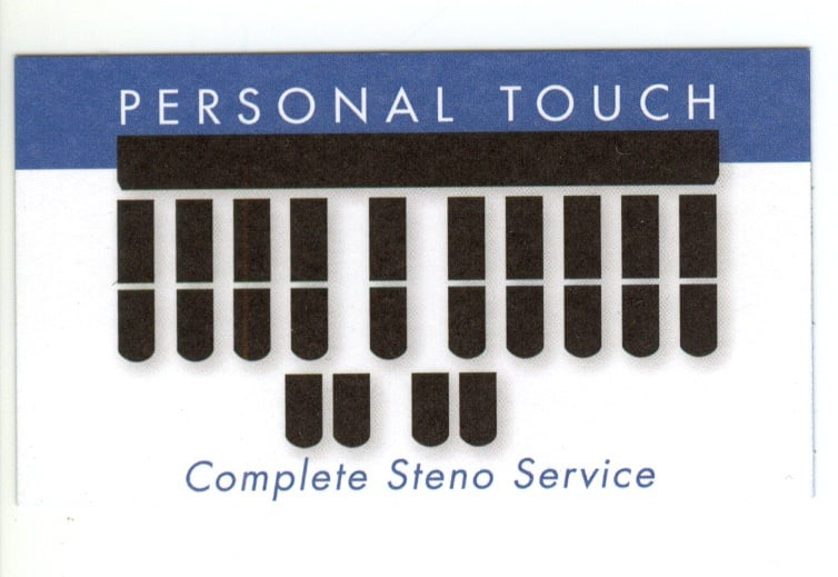 Personal Touch Steno: 601 Middle Rd, Belmont, CA