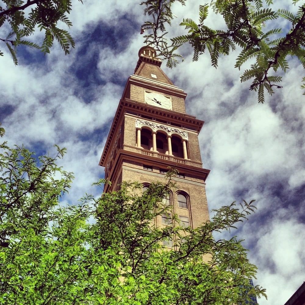 Denver Big Air Event Heiditown: Clock Tower