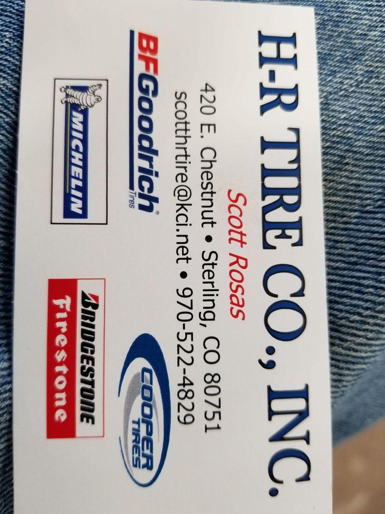 H-R Tire: 420 E Chestnut St, Sterling, CO