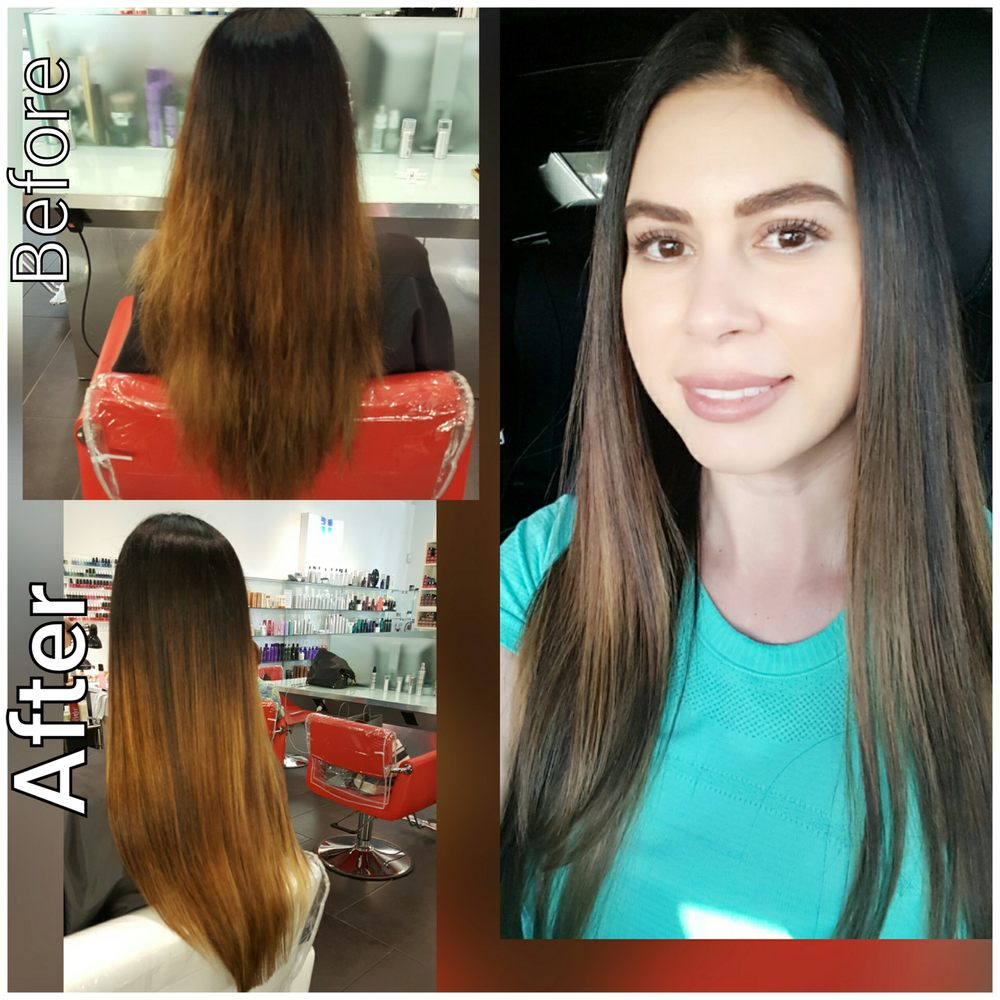 Sharp designers hair salon 17 reviews hairdressers for Abaka salon coral gables