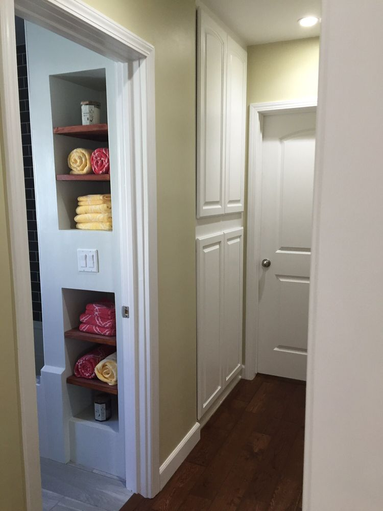Photo Of Flamingo Cabinet Door   Bellflower, CA, United States. Hallway  Cabinets Crafted
