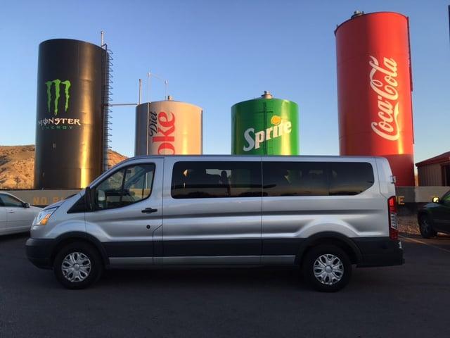 Ford Transit 12 Passenger Van, Salina Utah Coke Cans - Yelp