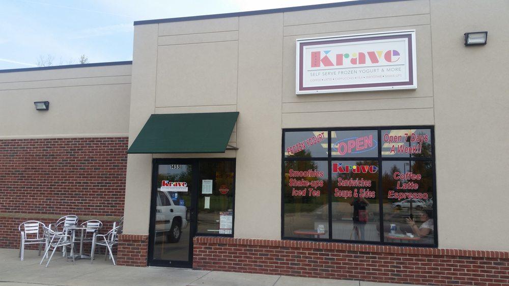 Krave: 1455 E Village Pkwy, Mount Zion, IL