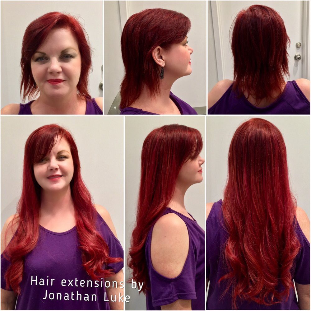 Hair Extensions By Our Jonathan Luke At Sensia Yelp