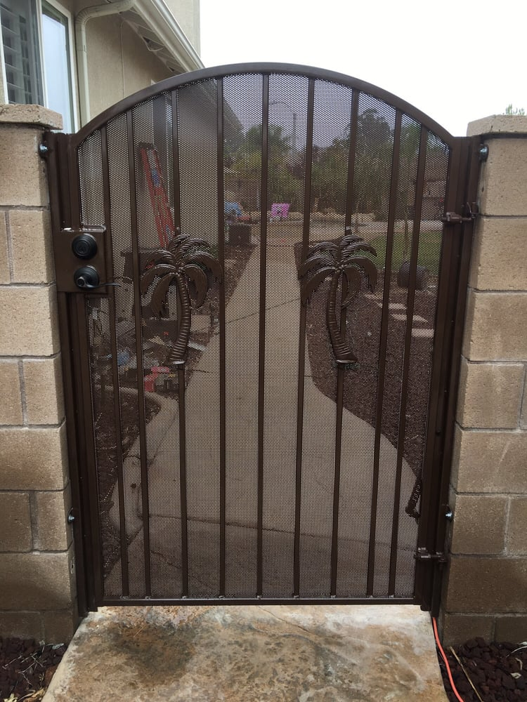 wrought iron gates 129 photos fences gates 16860. Black Bedroom Furniture Sets. Home Design Ideas