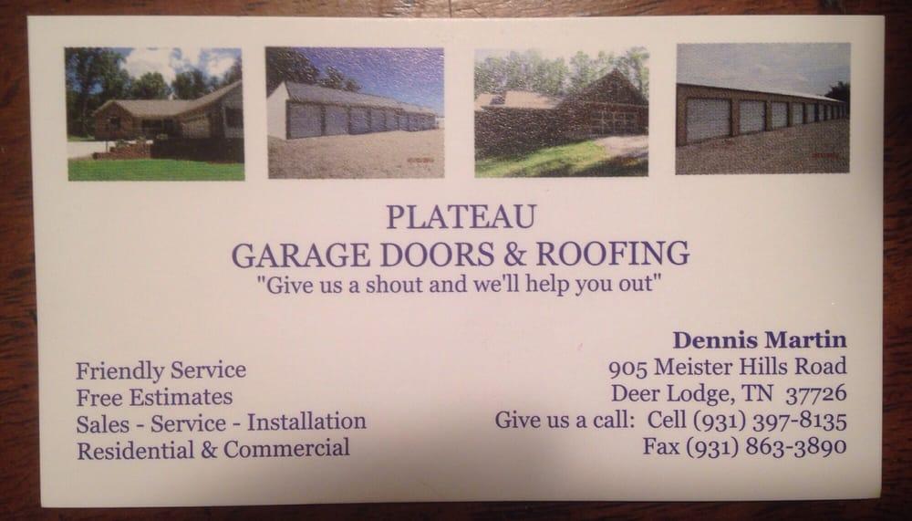 Plateau Garage Doors: 4539 Muddy Pond Rd, Monterey, TN