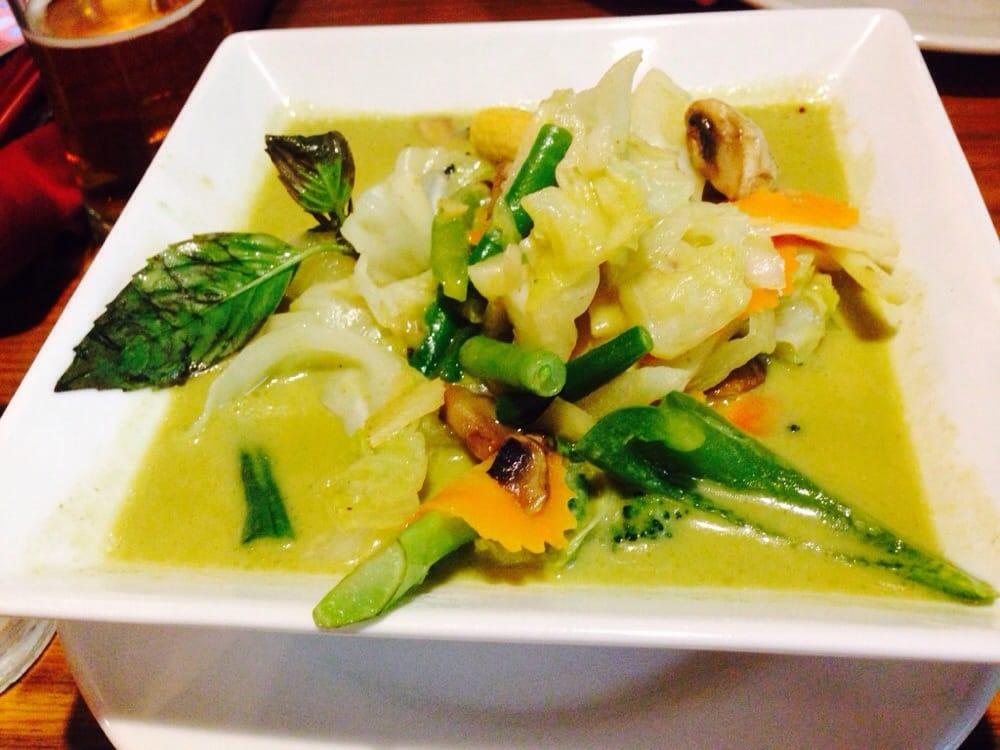Green Curry Veggie W Extra Veggie 1 5 More Yelp