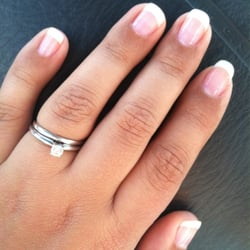 Photo Of Silk Nails Austin Tx United States French Manicure Over Natural