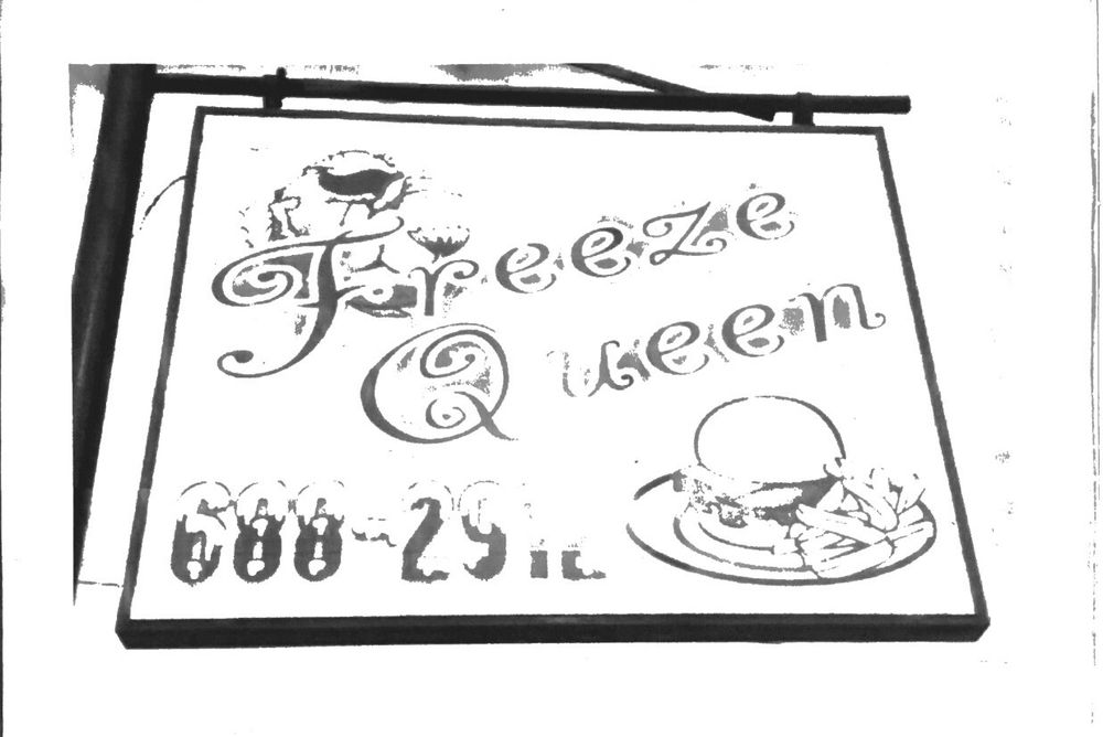 Bob's Freeze Queen: 203 N 3rd St, Lilbourn, MO