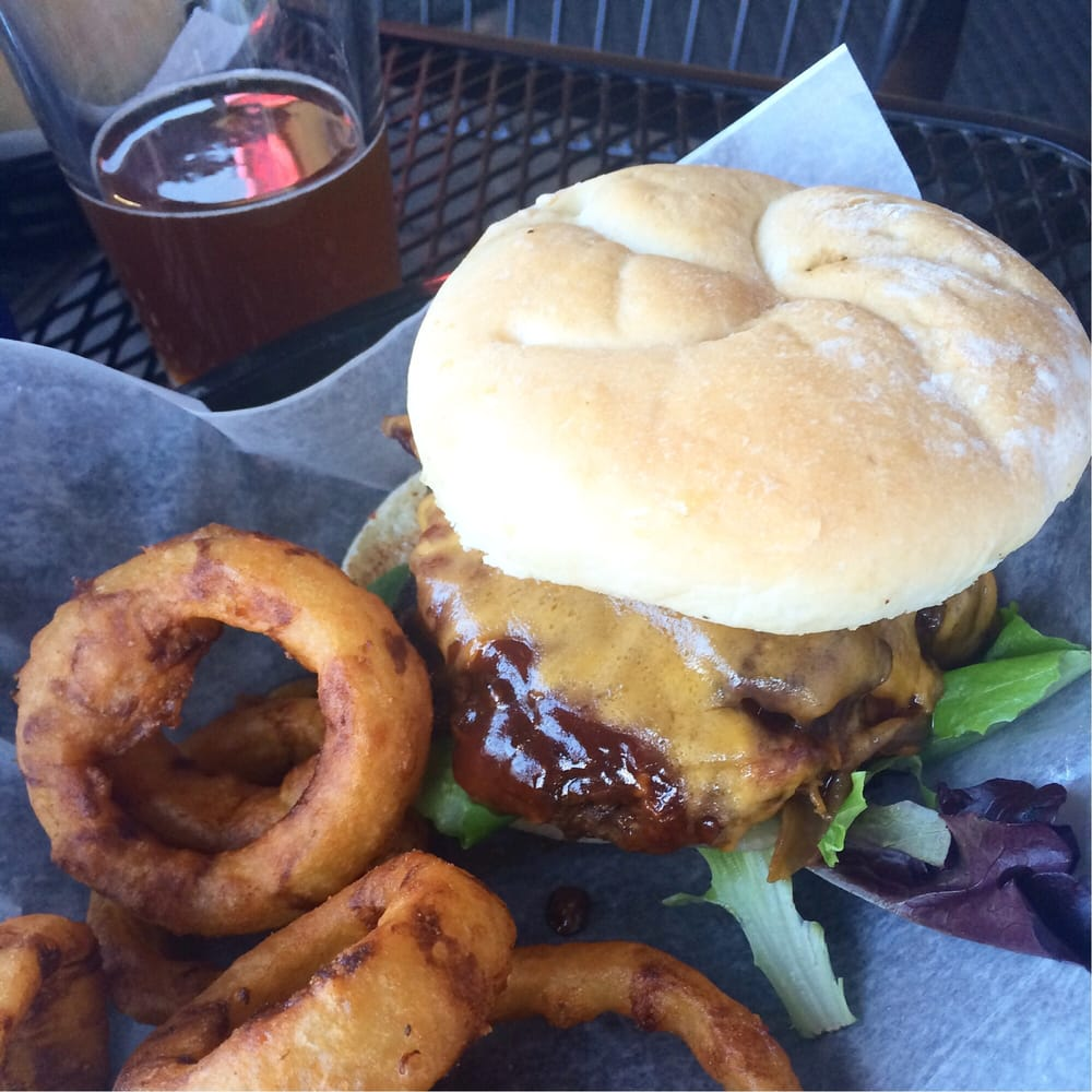 The Pig Pen Burger At Lucky 13 Yelp