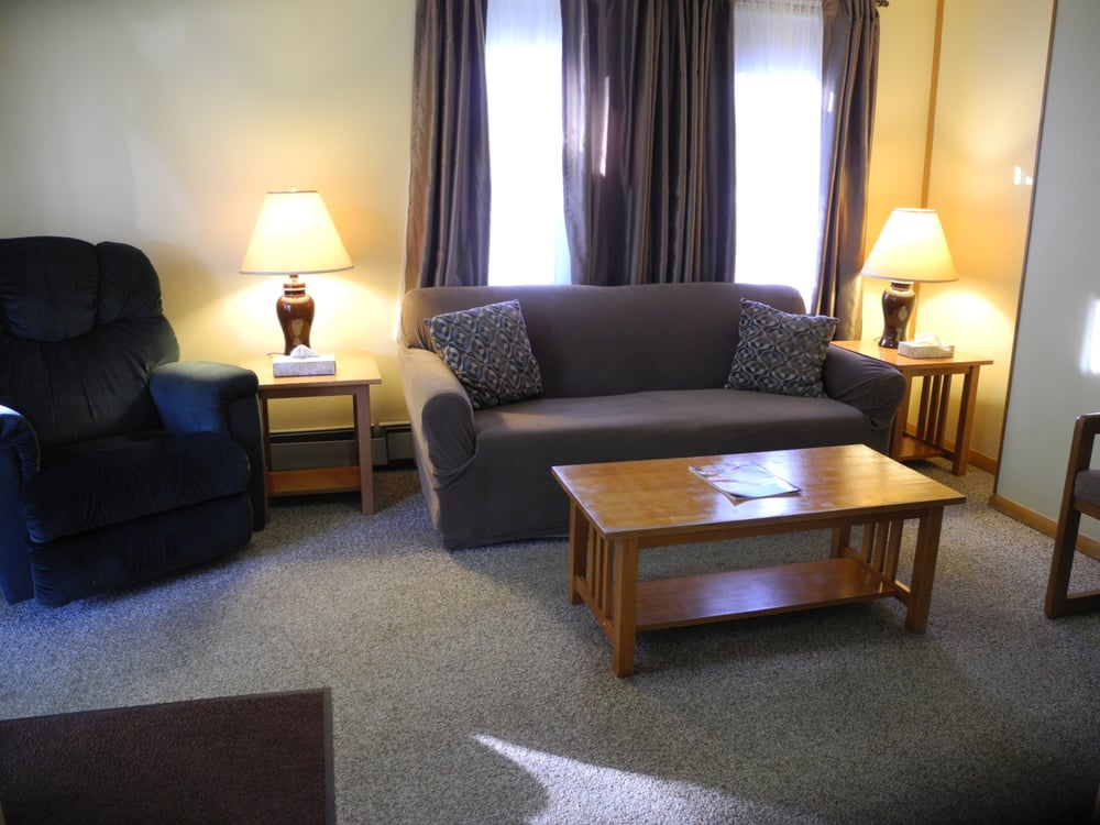 living room area of one of our 2 1st floor two bedroom suites
