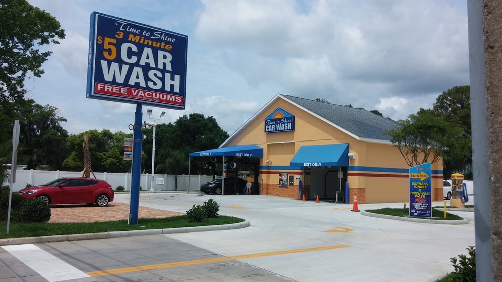 Time To Shine Carwash: 1500 US Highway 92 W, Auburndale, FL