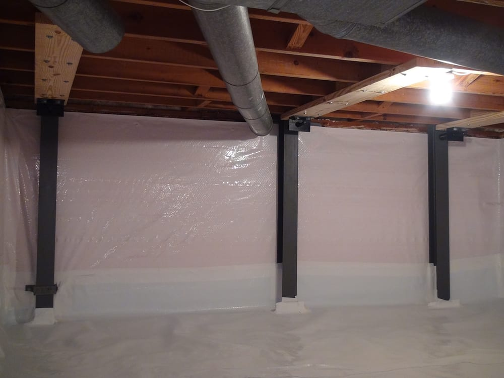 Photo Of The Basement Doctor   Reynoldsburg, OH, United States. Crawl Space  Repaired