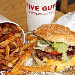 P O Of Five Guys Waterville Me United States