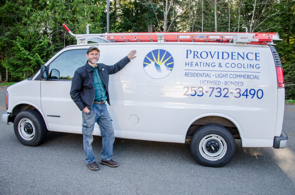 Providence Heating & Cooling: 6412 87th St NW, Gig Harbor, WA