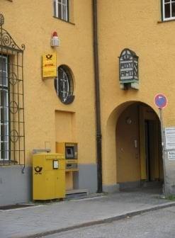 postamt oficinas de correos kochelseestr 11 sendling m nich bayern alemania n mero de. Black Bedroom Furniture Sets. Home Design Ideas
