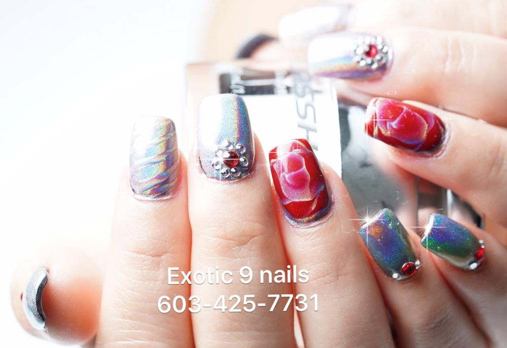 Funky Exotic 9 Nails Derry Nh Crest - Nail Paint Design Ideas ...