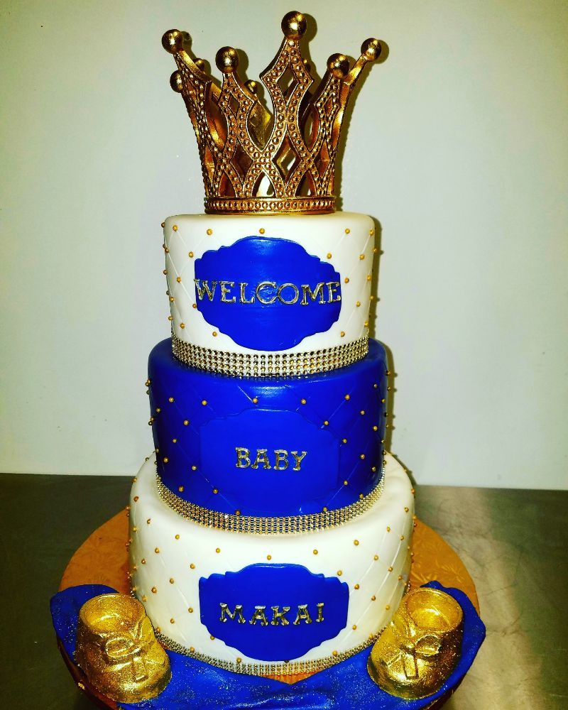 royal baby shower cake 3 tier royal baby shower cake yelp 7150