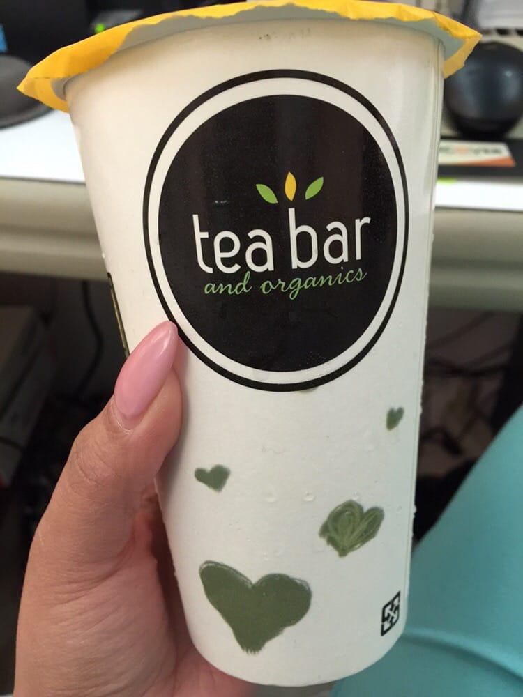 Tea bar organics