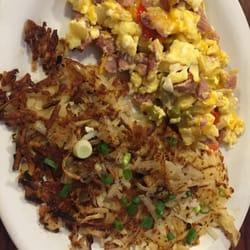 Zini's Diner - Cloverdale, CA, Estados Unidos. Denver scramble