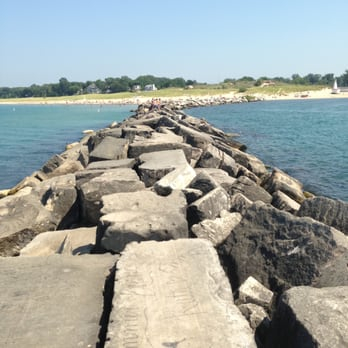 Photo Of New Buffalo Beach Mi United States The Breakwall