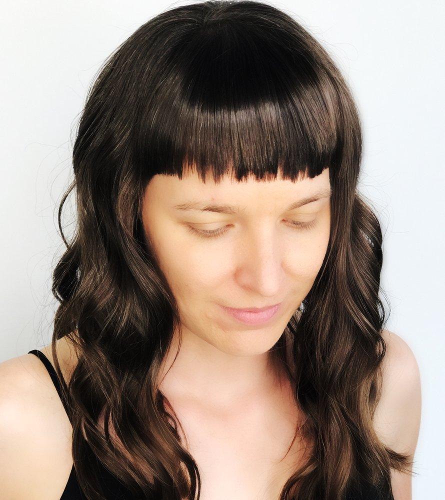 Bangs Haircuts Brunette Hair Rusk Haircut Yelp