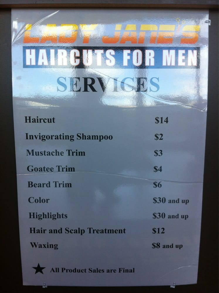 Lady Jane?s Haircuts For Men - Barbers - Raleigh, NC, United States ...