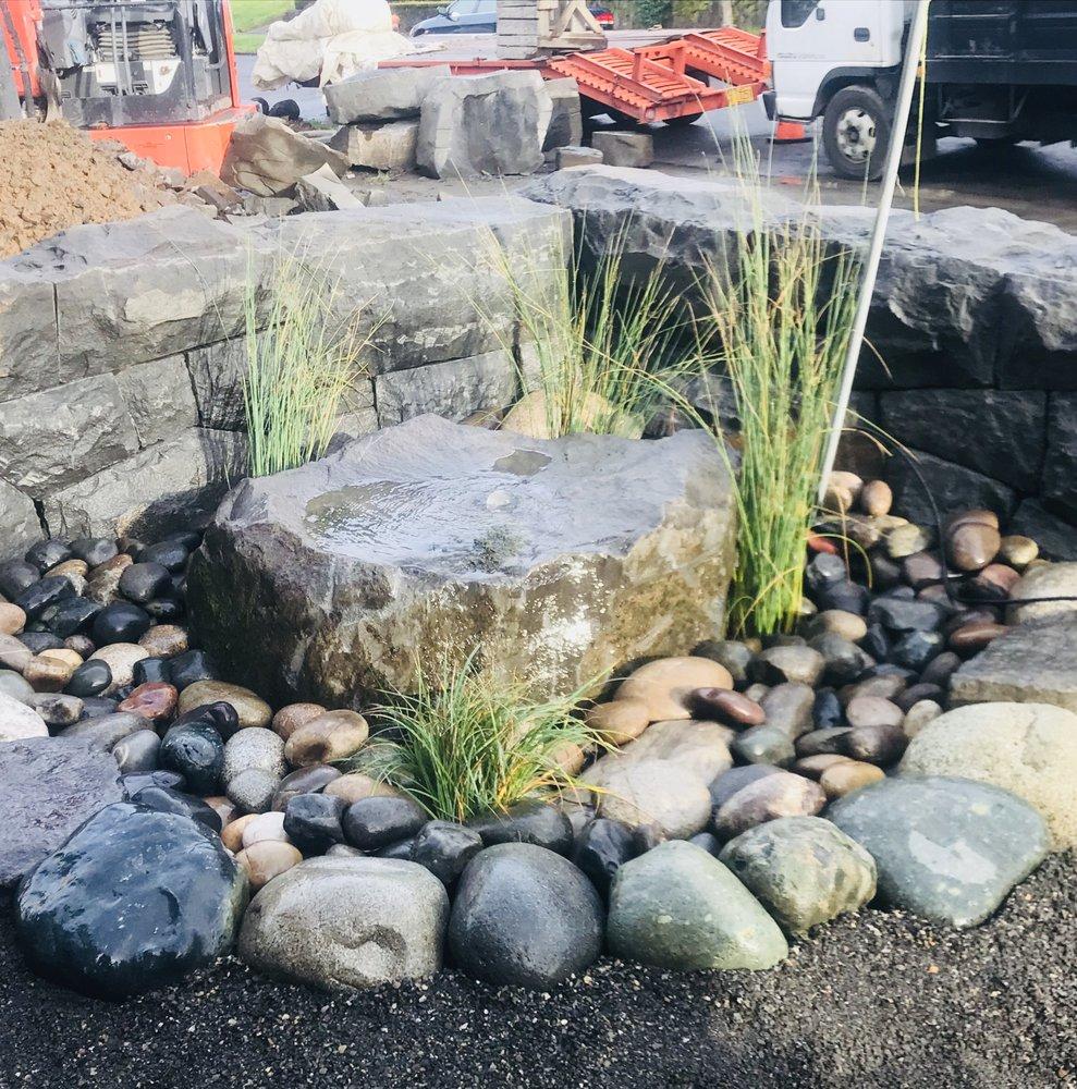 Stone Water Tree