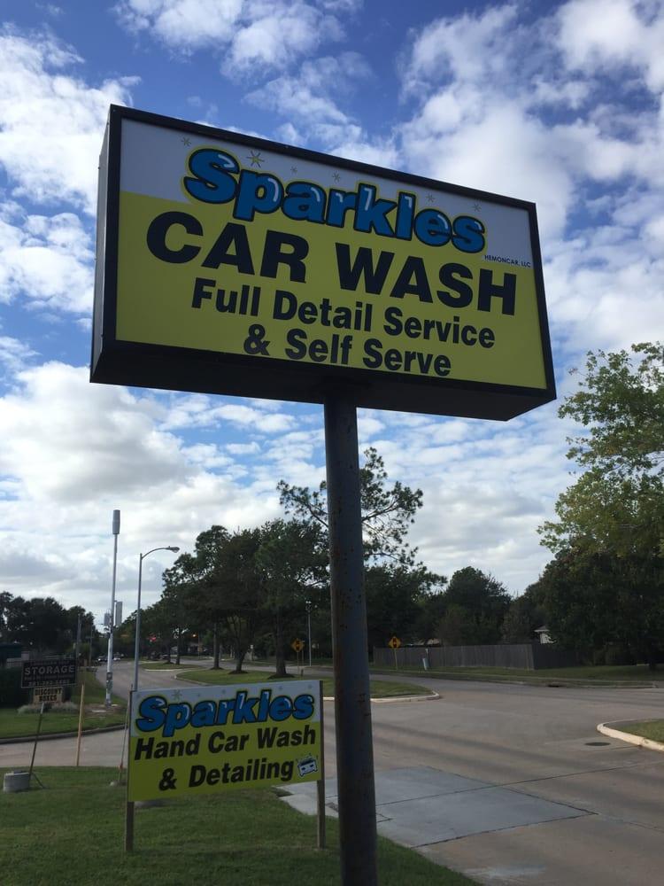 Sparkles Car Wash Katy