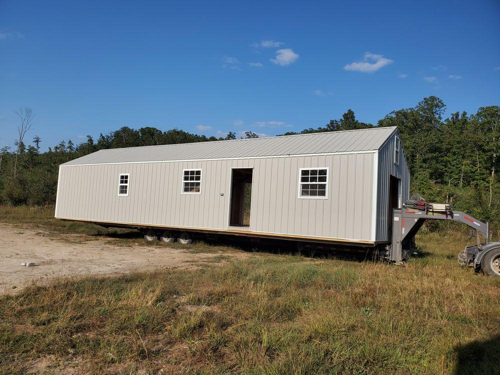 Backyard Portable Buildings: 6775 S Hwy 21, El Dorado Springs, MO