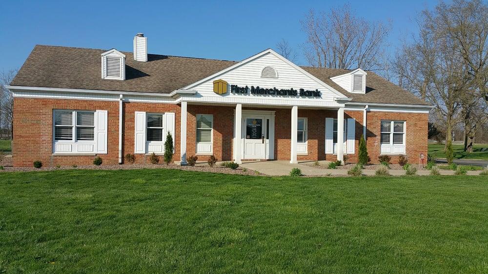 First Merchants Bank ATM: 488 West Main St, Morristown, IN