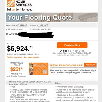 Home Depot Employee Services Number