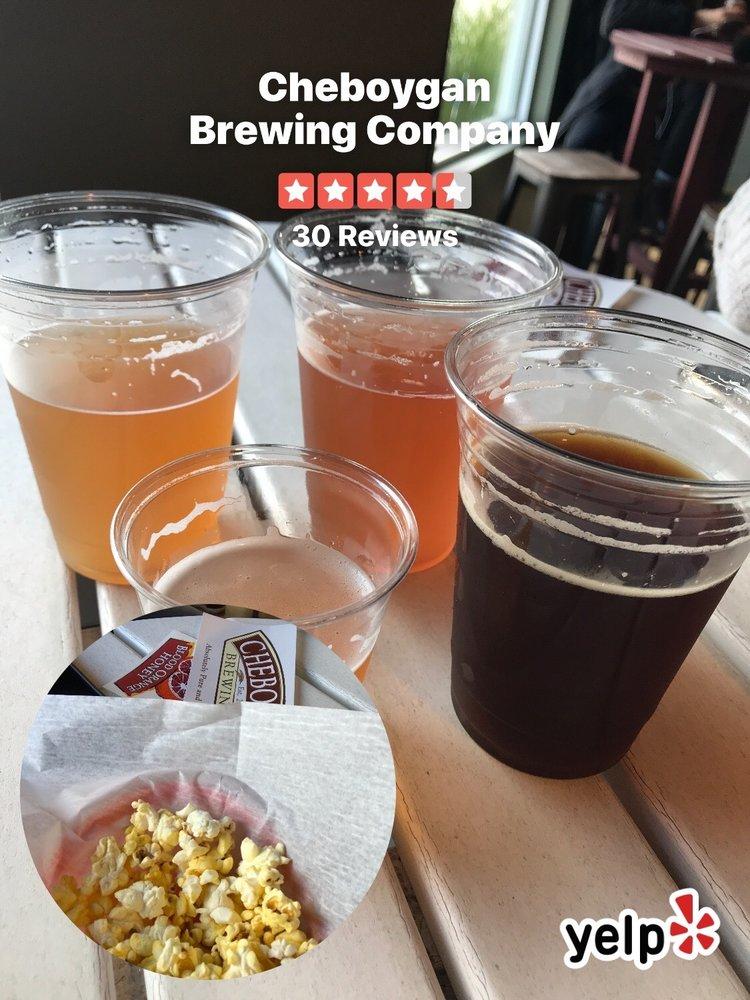 Cheboygan Brewing Company: 101 N Main St, Cheboygan, MI