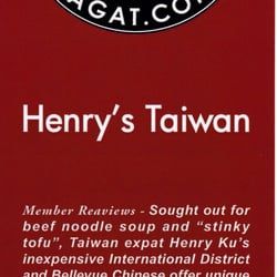 Henry S Taiwan Kitchen Review