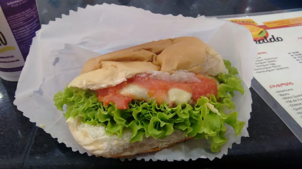 Hambúrguer do Seu Oswaldo