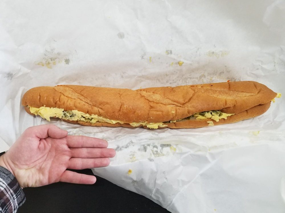 Food from Mighty Subs