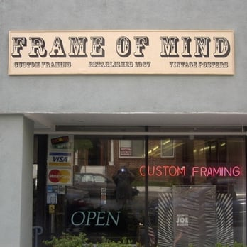 Frame Of Mind 60 Photos 17 Reviews Framing 225 N Maryland