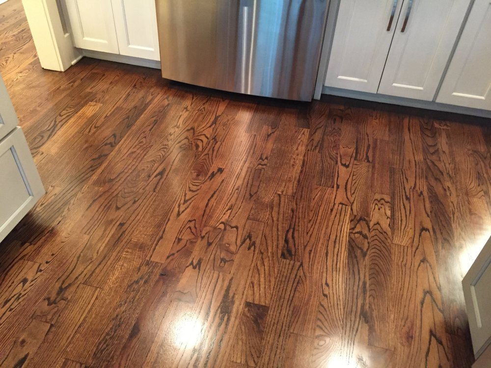 Newly Installed Mohawk Rustic Legacy Fawn Chestnut Laminate Flooring Yelp